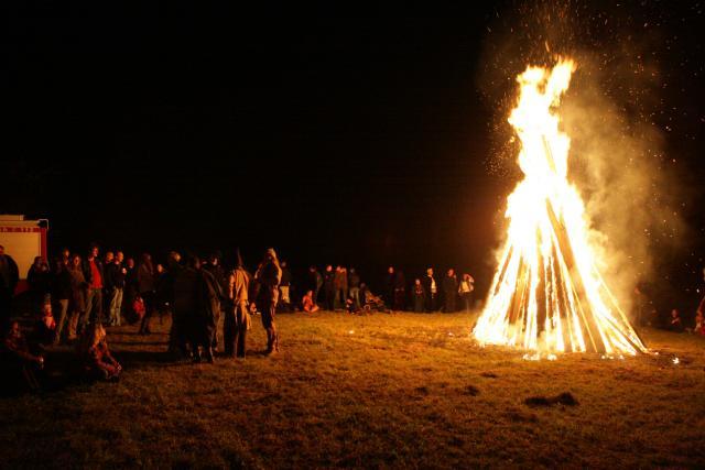 Samhain Feuer